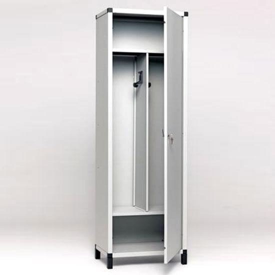 elfasystem vestiaire 1 porte 2 compartiments. Black Bedroom Furniture Sets. Home Design Ideas