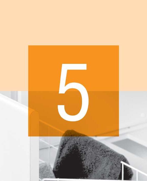 05 - Wäsche, Abfallkörbe und Dispenserhalter